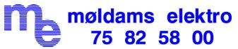 Møldams Elektro Aps Logo